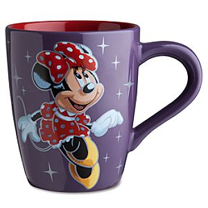 Disney Store 25th Anniversary Dancing Minnie Mouse Mug