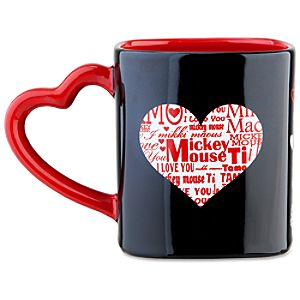 I Love You Icon Mickey Mouse Mug