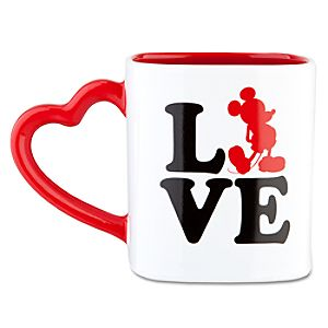 LOVE Mickey Mouse Mug