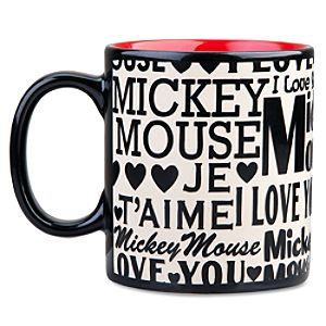 I Love You Mickey Mouse Mug