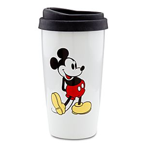 Ceramic LOVE Mickey Mouse Travel Mug