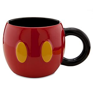Disney Store 25th Anniversary Pants Mickey Mouse Mug