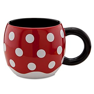 Disney Store 25th Anniversary Skirt Minnie Mouse Mug