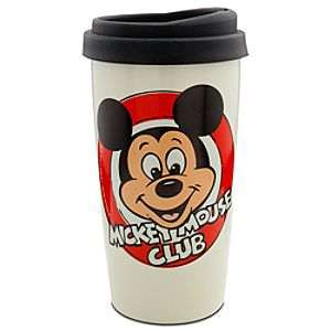 Ceramic Mickey Mouse Club Travel Tumbler