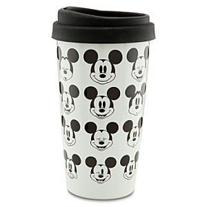 Ceramic Mickey Mouse Travel Tumbler