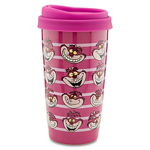 Ceramic Cheshire Cat Travel Tumbler