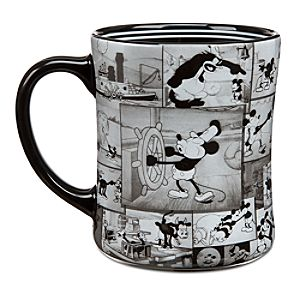 Mickey Mouse Steamboat Willie Mug