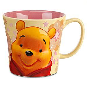 Winnie the Pooh Mug - Spring Floral