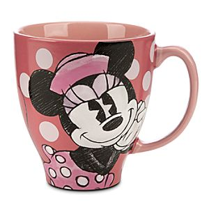 Minnie Mouse Classic Sketch Mug
