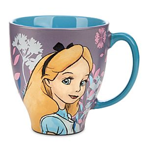 Alice in Wonderland Classic Sketch Mug