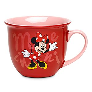 Minnie Mouse Mug with Lip