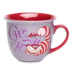 Cheshire Cat Mug with Lip