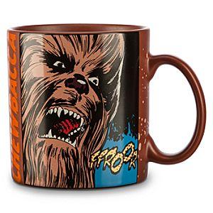 Chewbacca Comic Strip Mug - Star Wars
