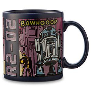 R2-D2 Comic Strip Mug - Star Wars