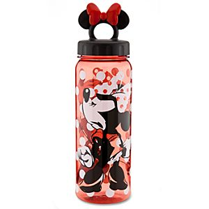 Polka Dot Minnie Mouse Water Bottle