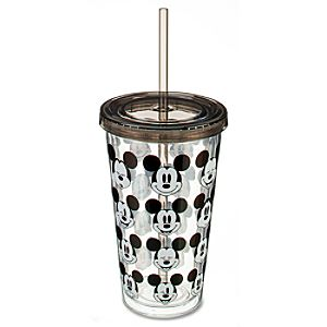 Classic Mickey Mouse Tumbler with Straw