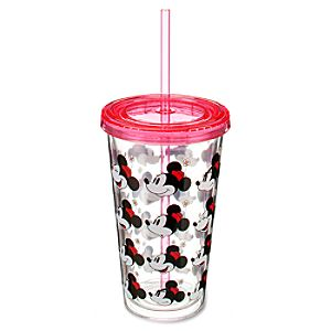 Classic Minnie Mouse Tumbler with Straw