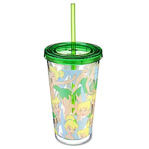 Tinker Bell Tumbler with Straw