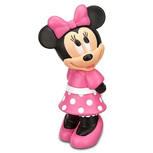Figural Minnie Mouse Water Bottle