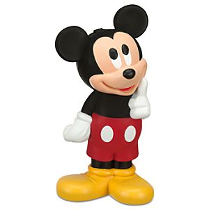 Figural Mickey Mouse Water Bottle
