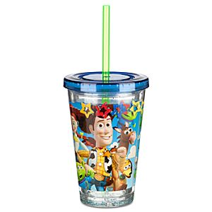 Toy Story Tumbler with Straw -- Small