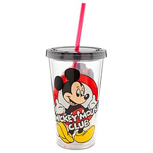 Mickey Mouse Club Large Tumbler with Straw