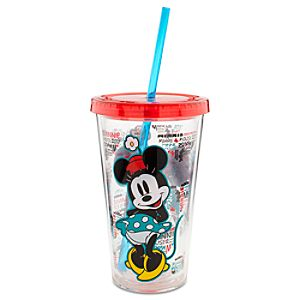 Minnie Mouse Large Tumbler with Straw