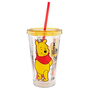 Winnie the Pooh Tumbler with Straw -- Large