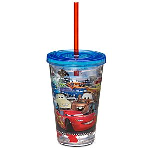 Cars Tumbler with Straw - Small