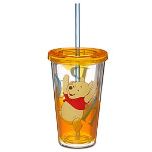 Winnie the Pooh Tumbler with Straw