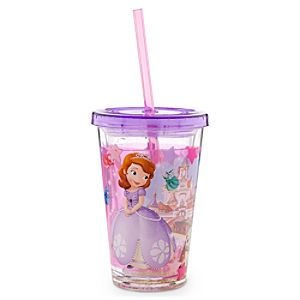 Sofia the First Tumbler with Straw -- Small