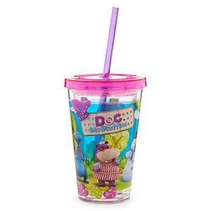 Doc McStuffins Tumbler with Straw -- Small