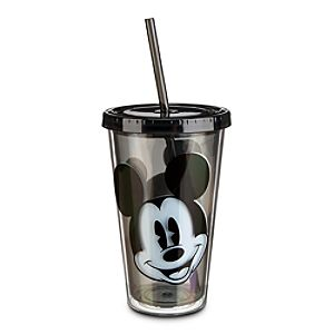 Mickey Mouse Portrait Tumbler with Straw