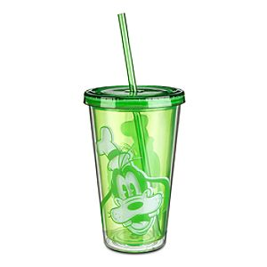Goofy Portrait Tumbler with Straw