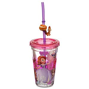 Sofia the First Tumbler with Straw - Small