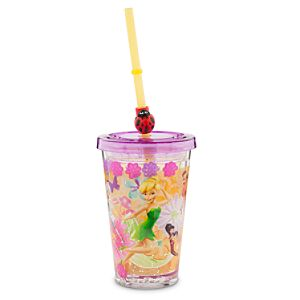 Disney Fairies Tumbler with Straw - Small