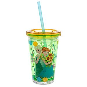 Frozen Fever Tumbler with Straw - Small