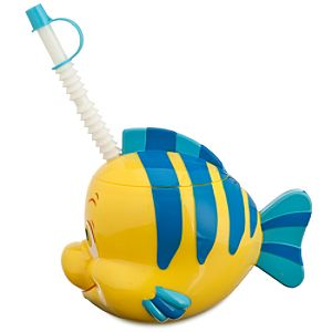 The Little Mermaid Flounder Cup with Straw