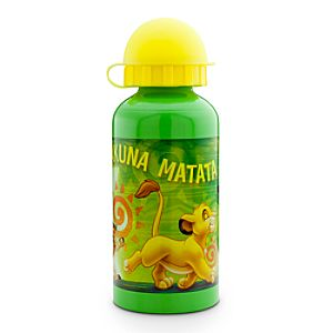 Aluminum Hakuna Matata The Lion King Water Bottle -- Small