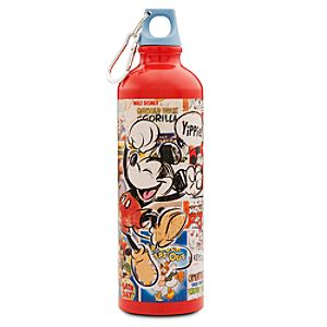 Disney Nostalgia Aluminum Mickey Mouse Water Bottle