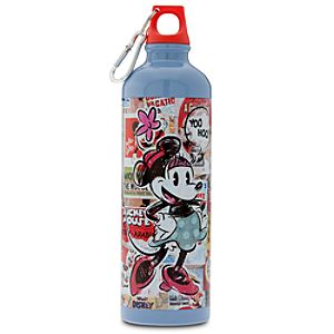 Disney Nostalgia Minnie Mouse Aluminum Water Bottle