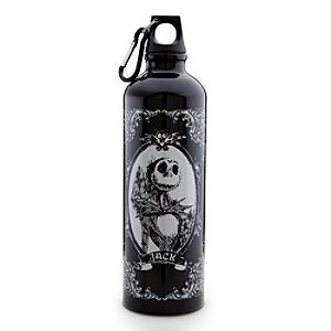 Tim Burtons The Nightmare Before Christmas Aluminum Jack Skellington Water Bottle