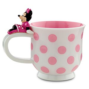 Polka Dot Minnie Mouse Cup