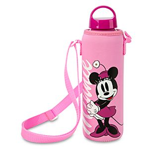 Minnie Mouse Water Bottle with Neoprene Cover