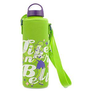 Tinker Bell Water Bottle with Neoprene Cover