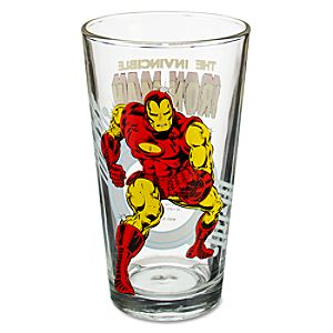 Glass Iron Man Tumbler