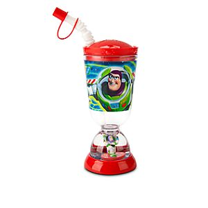 Buzz Lightyear Snowglobe Tumbler with Straw