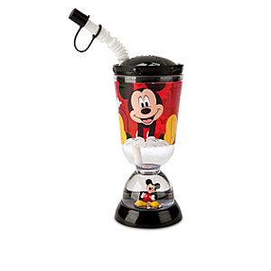 Mickey Mouse and Friends Snowglobe Tumbler with Straw