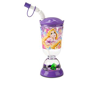Rapunzel Snowglobe Tumbler with Straw