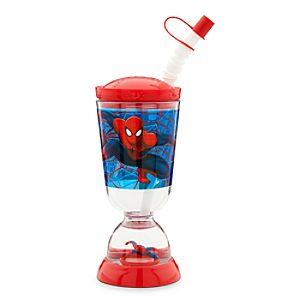 Spider-Man Snowglobe Tumbler with Straw